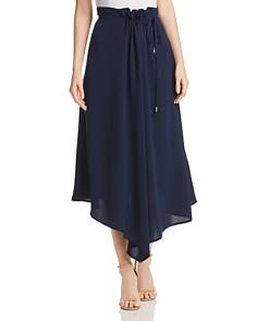 Donna Karan - Asymmetric Draped Midi Skirt
