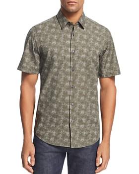 BOSS Hugo Boss - Luka Patterned Regular Fit Button-Down Shirt