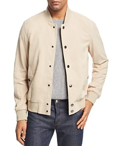 BOSS - Aminor Suede Bomber Jacket