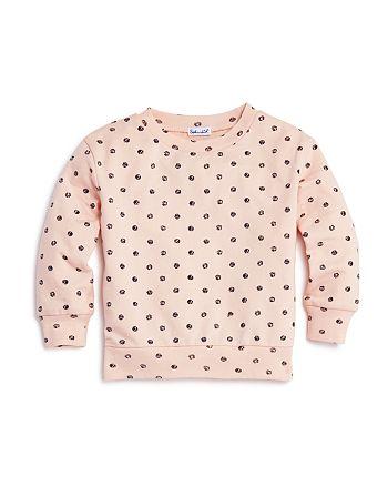 Splendid - Girls' Polka-Dot Sweatshirt - Little Kid