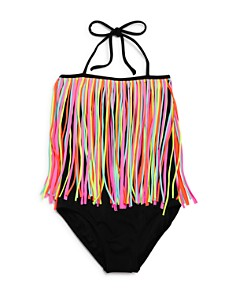 Peixoto - Girls' Multi-Fringe One-Piece Swimsuit - Little Kid, Big Kid