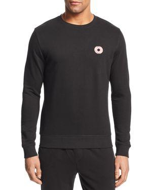 BRICKTOWN Donut Crewneck Sweatshirt in Black
