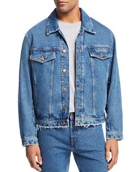 HUGO - Distressed Denim Jacket