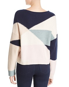Joie - Megu Wool & Cashmere Color-Block Sweater