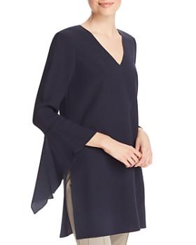 e23a64232fed4 Lafayette 148 New York - Rosita Silk Flutter Sleeve Blouse ...