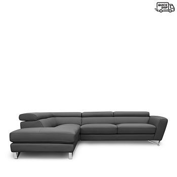 Nicoletti - Delancey Left Facing Sectional - 100% Exclusive
