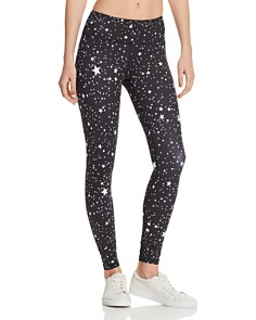 AQUA - Star Print Leggings - 100% Exclusive