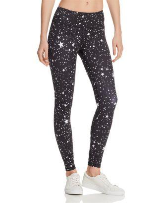 AQUA Star Print Legging