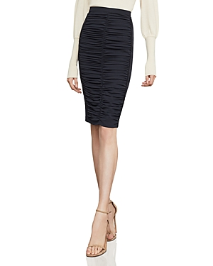 BCBGMAXAZRIA | Bcbgmaxazria Ruched Pencil Skirt | Goxip