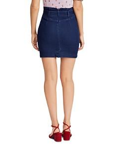 Free People - Livin It Up Denim Mini Skirt