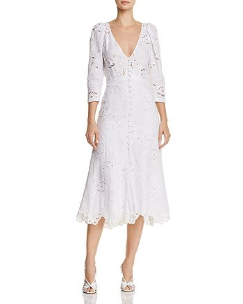 Rebecca Taylor - Terri Embroidered Dress