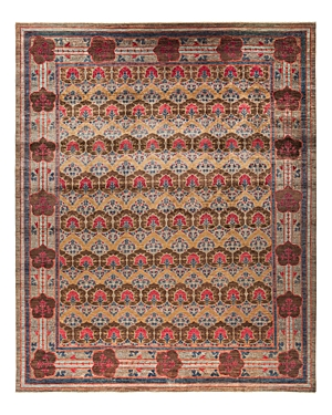 Solo Rugs Arts & Crafts Collection Palmette Hand-Knotted Area Rug, 11\\\'8 x 14\\\'6-Home