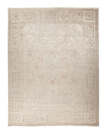 """Solo Rugs - Vibrance Collection Morganite Hand-Knotted Area Rug, 9' x 12'2"""""""