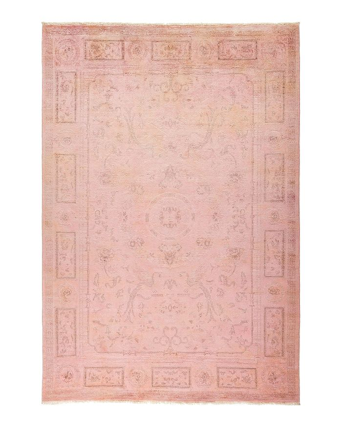 Solo Rugs - Vibrance Morganite Hand-Knotted Area Rug Collection