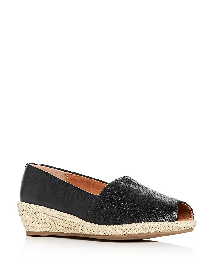 Gentle Souls by Kenneth Cole - Women's Luci A-Line Low Wedge Espadrille Pumps