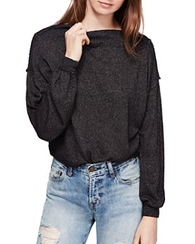Free People - Stay With Me Boat-Neck Top