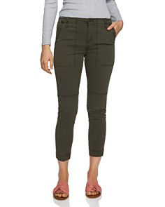 1.STATE - Cropped Twill Pants