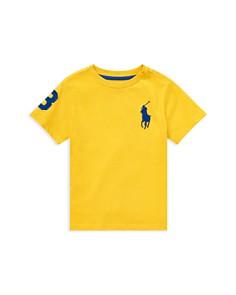 Ralph Lauren - Boys' Cotton Jersey Crewneck Tee - Little Kid
