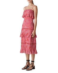 Whistles - Printed Tiered Dress