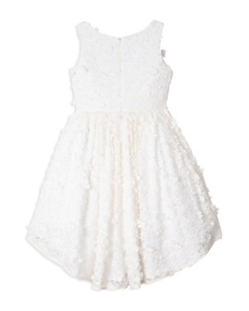 Badgley Mischka - Girls' Floral High Low Dress - Big Kid