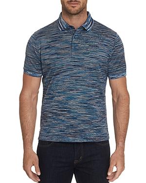 Robert Graham T-shirts PATRIN VARIEGATED CLASSIC FIT POLO SHIRT