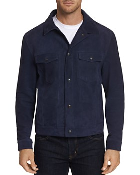 Robert Graham - Marko Suede Trucker Jacket