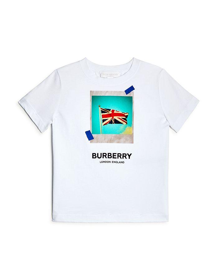 Burberry - Boys' Photo Flag Tee - Little Kid, Big Kid