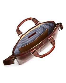 BOCONI - Bryant Leather Sleeve Briefcase