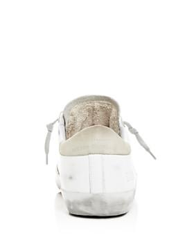 Golden Goose Deluxe Brand - Men's Superstar Distressed Leather Low-Top Sneakers