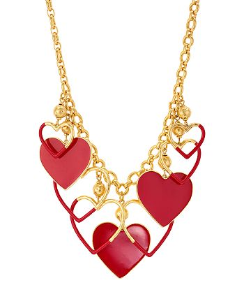 kate spade new york - Heart Necklace, 16""