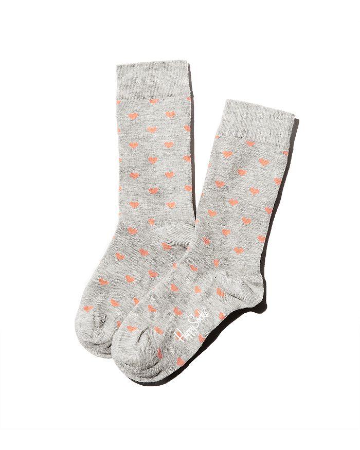 Happy Socks - Mini Hearts Crew Socks - 100% Exclusive