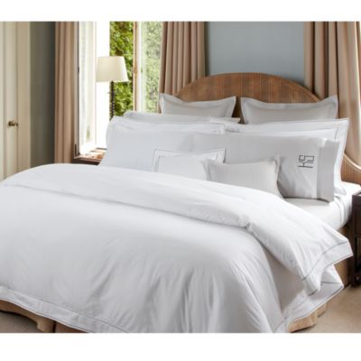Ansonia Percale Flat Sheet, Full/Queen