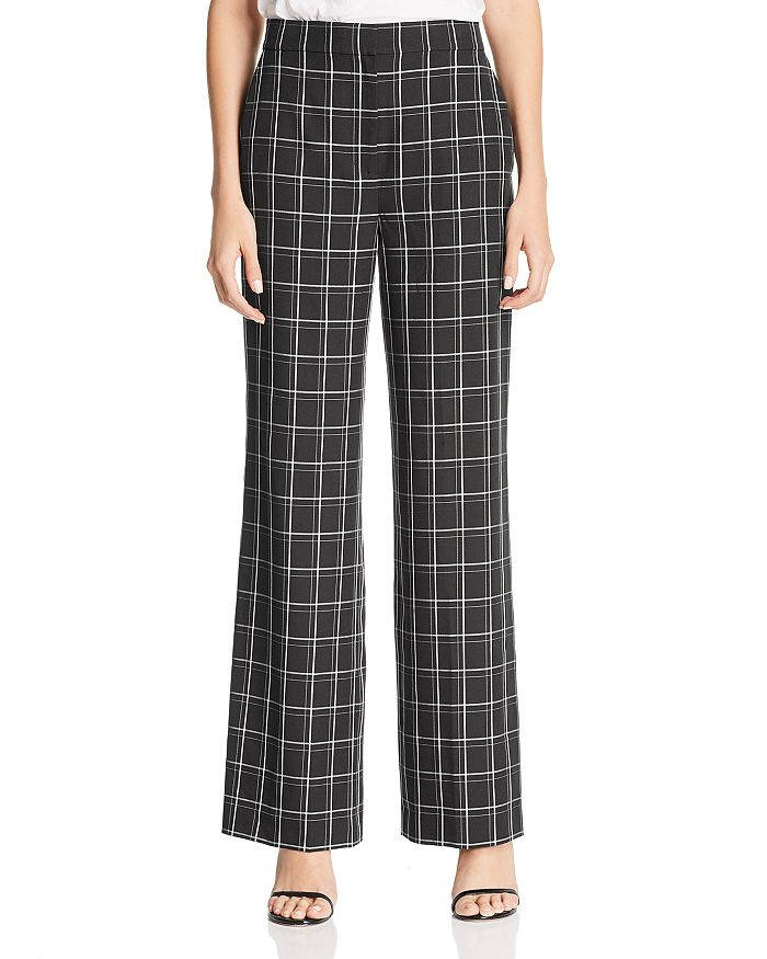 e7c7bff867 Fame and Partners The Holt Plaid Wide-Leg Pants - 100% Exclusive ...