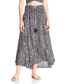 Tiare Hawaii - Dakota Star-Print Maxi Skirt