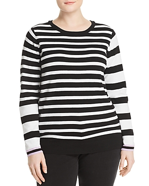 One A Plus Mixed Stripe Sweater
