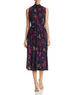 Leota Mindy Sleeveless Floral-Print Dress