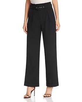 Vero Moda - Savanah Belted Paperbag Pants