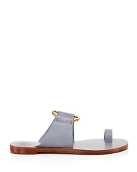 d374c792bbad ... Tory Burch - Women s Ravello Studded Leather Slide Sandals