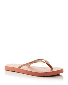 b2eb8c9e5c2a1 Tory Burch - Women s Metallic Leather Thong Sandals ...
