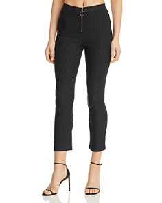 Tiger Mist - Halle Pinstriped Skinny Pants
