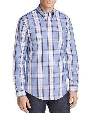 Brooks Brothers Regent Plaid Slim Fit Button-Down Shirt
