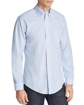 40a4258063a4d Brooks Brothers - Regent Striped Slim Fit Button-Down Shirt