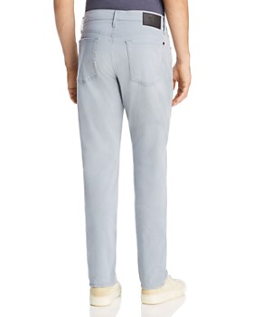 7 For All Mankind - Adrien Slim Fit Jeans in Light Grey