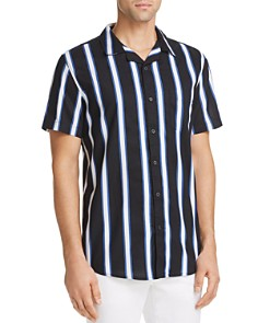 Sovereign Code - React Striped Short-Sleeve Regular Fit Shirt
