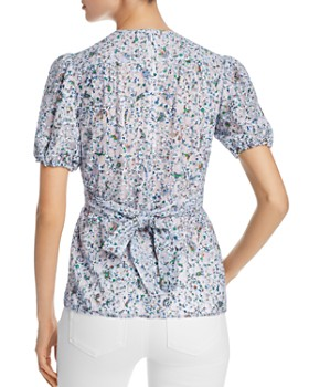Tory Burch - Printed Lace Top