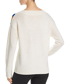 Tory Burch - Striped Merino-Wool Sweater