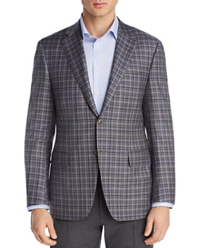 Canali - Plaid Siena Regular Fit Sport Coat