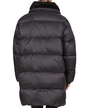 ... The Kooples - Faux-Fur Collar Quilted Puffer Coat c7d8743a2041