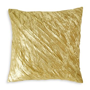 "Donna Karan - Gilded Decorative Pillow, 20"" x 20"""