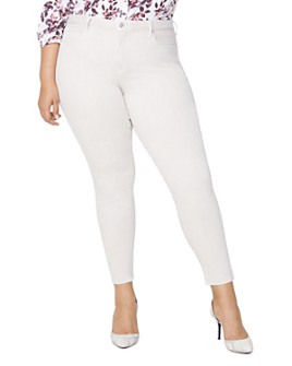 NYDJ Plus - Ami Skinny Ankle Jeans in Feather